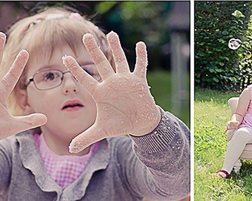 Wunderbare Fotos Einsatz Tapfere Knirpse