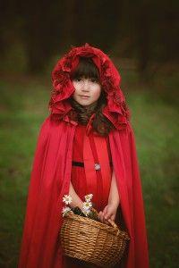 Kinder Fotografie Märchen Rotkäppchen