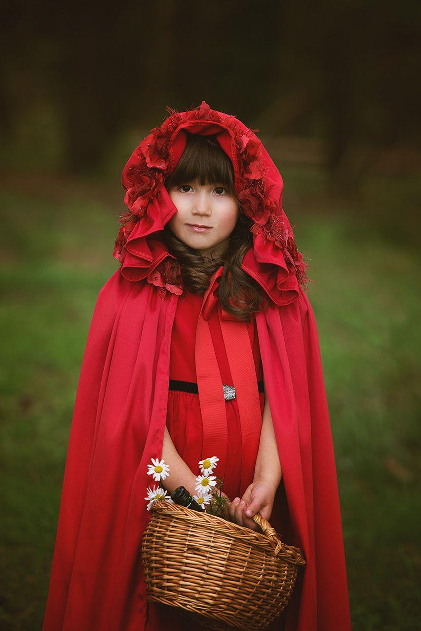 kinder fotografie märchen rotkäppchen  wunderbare fotos